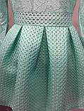 Платье для девочки с юбкой из неопрена 140,146 см, фото 2