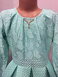 Платье для девочки с юбкой из неопрена 140,146 см, фото 3