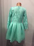 Платье для девочки с юбкой из неопрена 140,146 см, фото 4