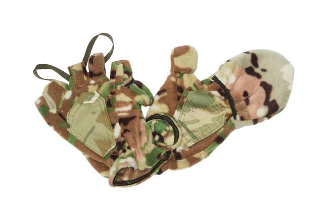Перчатки-варежки зимние - камуфляж , фото 2