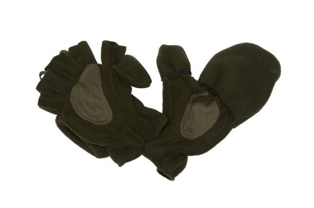 Перчатки-варежки зимние - хаки , фото 2