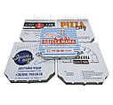 Коробка для пиццы, 35 см бурая, 350*350*35, мм, фото 5