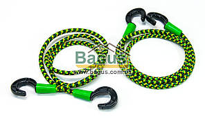 Резинки багажные (2шт.) круглые 120см с крючками Консенсус