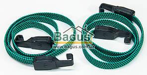 Резинки багажные (2шт.) плоские 120см с крючками Консенсус