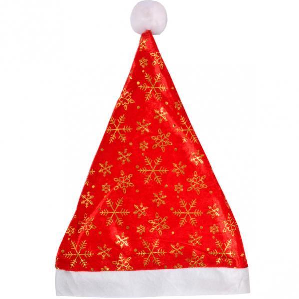 Шапка Деда Мороза (блестящая)