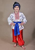 Детский карнавальный костюм Козак, Казак, Украинец для мальчиков 5,6,7,8,9,10,11 лет