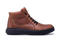 Мужские зимние кожаные ботинки  Leather New Beat Fox, фото 1