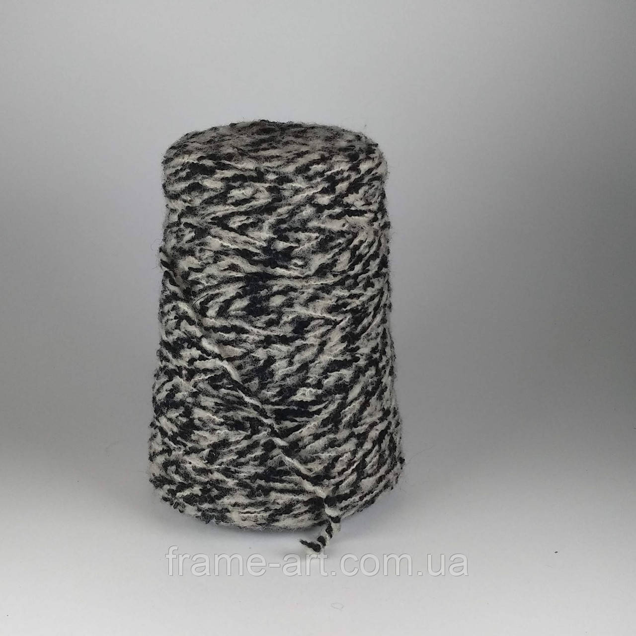 PECCI Filati S.p.A CAP-TOE 100г/2200м черно-белый