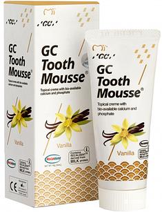Крем для зубiв GC Tooth Mousse Vannilla 35 мл Ванільний