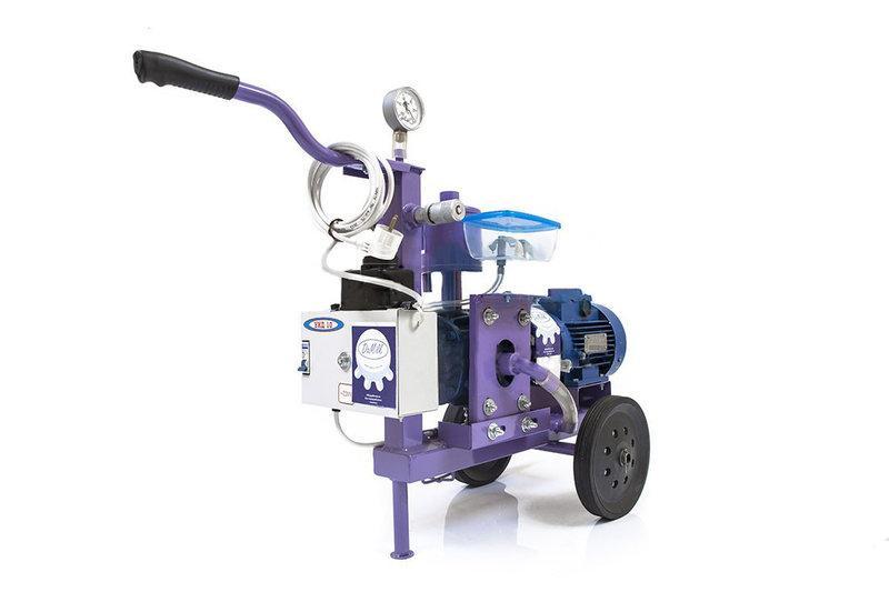 Доильный аппарат АИД-10 «Установка» 1100Вт насос роторный масляный