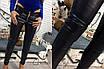 Женские кожаные брюки на флисе о-56lr183, фото 5