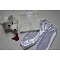 Карнавальный костюм белого  медведя