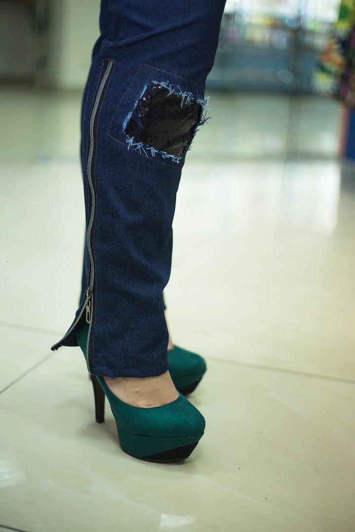 Женские джинсы Корона больших размеров а-10uk963