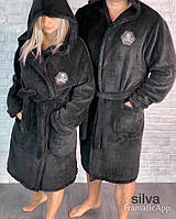 Мужские и женские махровые халаты  ПД714, фото 1