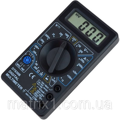Цифровой мультиметр DT830B, Tcom-Digital
