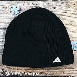 Чёрная шапка с флисом (UA31028)