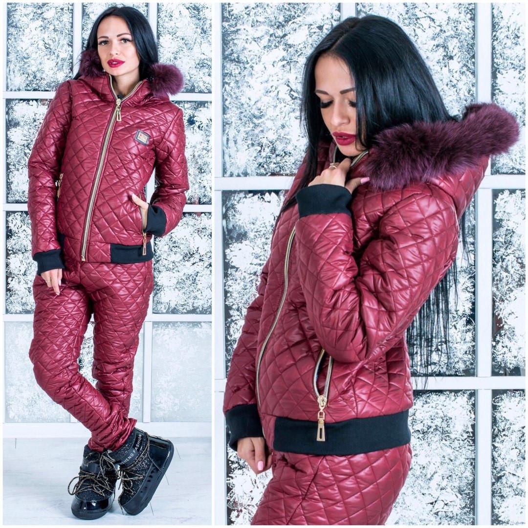 Тёплый  женский костюм moschino р-5tm41
