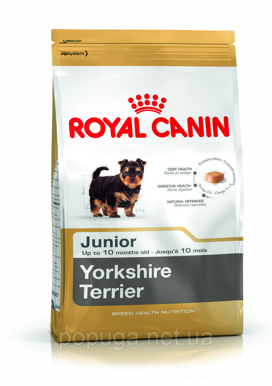 Royal Canin Yorkshire Terrier Junior корм для йорков, 7,5 кг