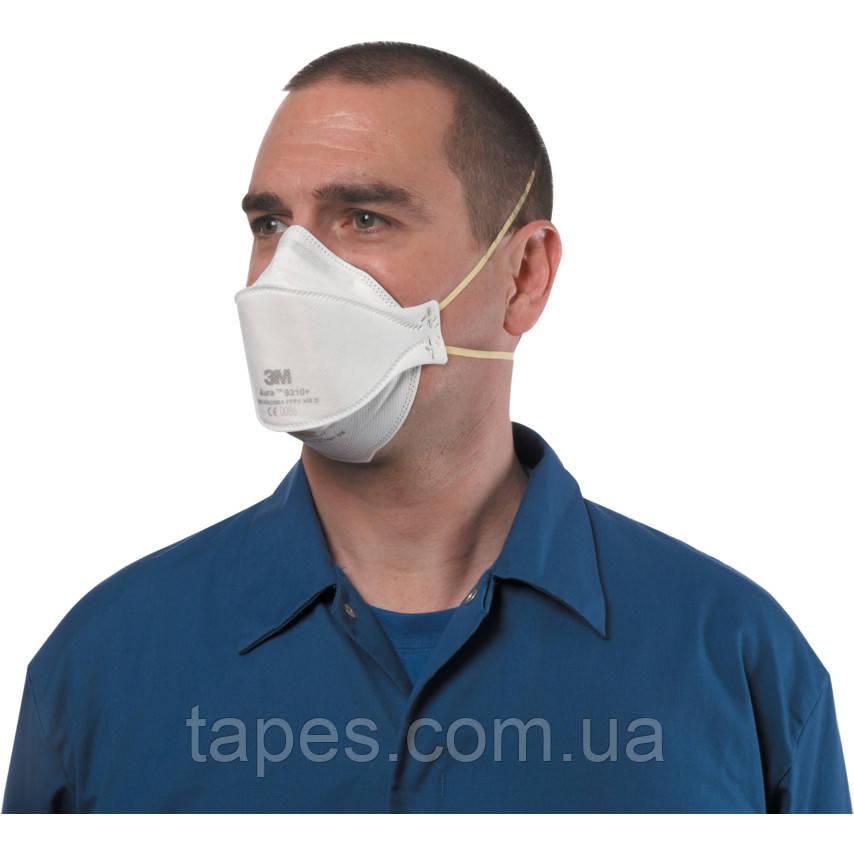 3М 9310  Респиратор комфортный без клапана от токсичной пыли класс FFP1, EN149