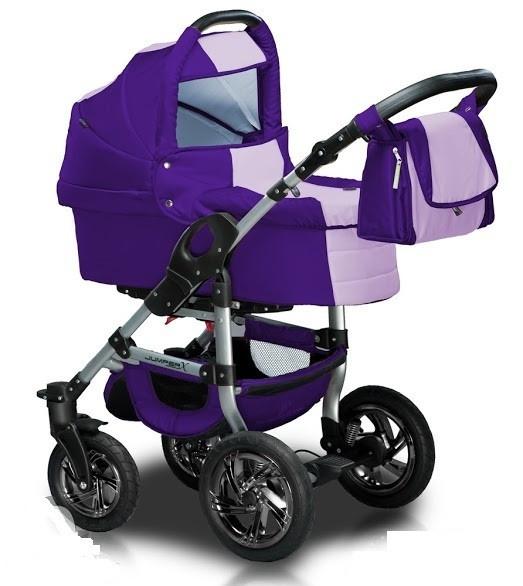 Trans Baby Универсальная коляска 2 в 1 Trans Baby Jumper Purple Lilas (TB.Ju.115/19)