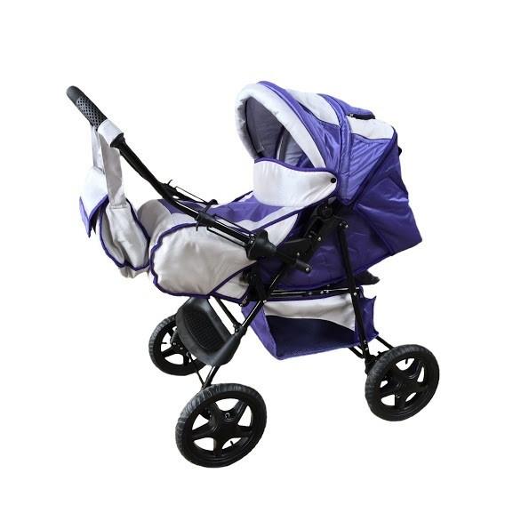 Trans Baby Коляска-трансформер Trans Baby Dolphin 16/115 Metallik Purple (TB.Do. 16/115)