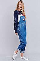 Комбинезон джинсовый женский Tommy Jeans W245 Комбинезоны джинсовые, фото 1