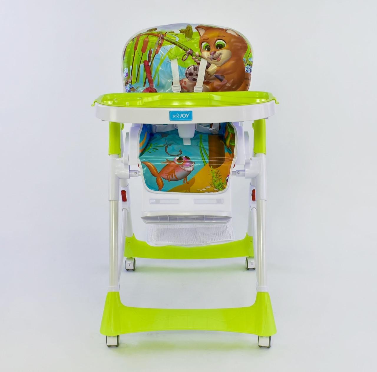 Joy Стульчик для кормления Joy J 4100 Lime Green (J 4100)