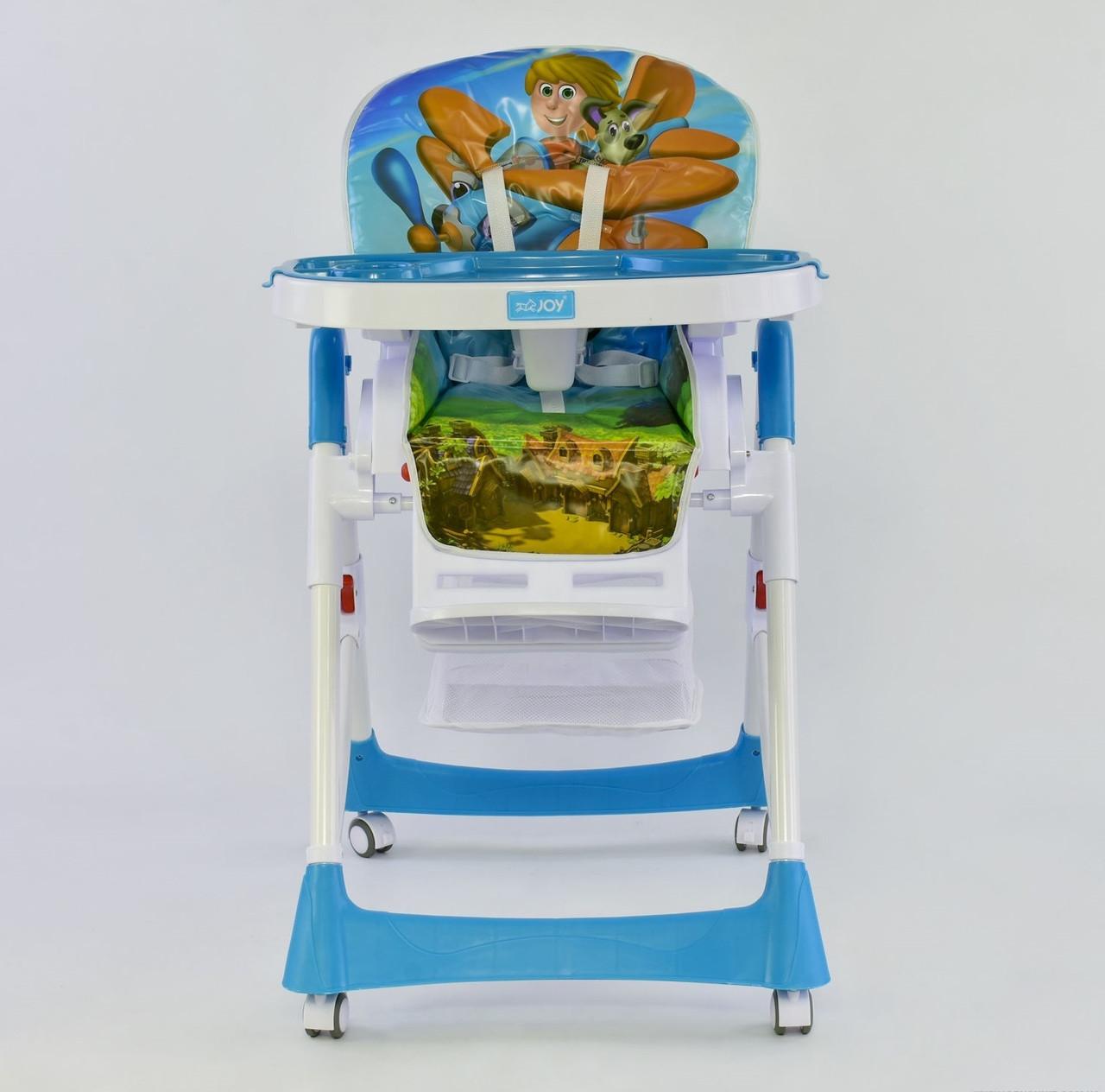 Joy Стульчик для кормления Joy J 7600 Light Blue (J 7600)