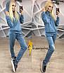 Модный женский спортивный костюм в расцветках v-t31rt369, фото 4