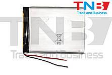 Батарея для планшету 3,8V 106x80x3,5mm 2pin 3200mA