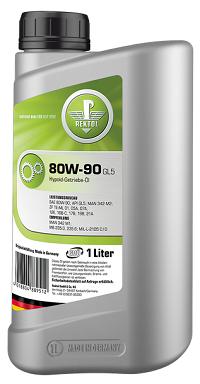 Минеральное трансмиссионное масло для самоблокирующихся дифференциалов REKTOL 80W90 GL5 LS (1 L)