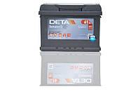 Аккумулятор DETA Senator-3 Carbon Boost 6ст-61 А/ч L+ DA 601 600En