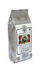Черный чай Клубника, STRAWBERRY BLACK TEA, Млесна (Mlesna) 100г.