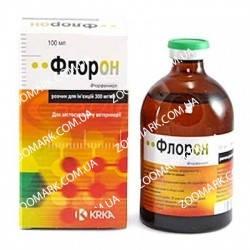 Флорон 30% — инъекционный антибактериальный препарат 100 мл