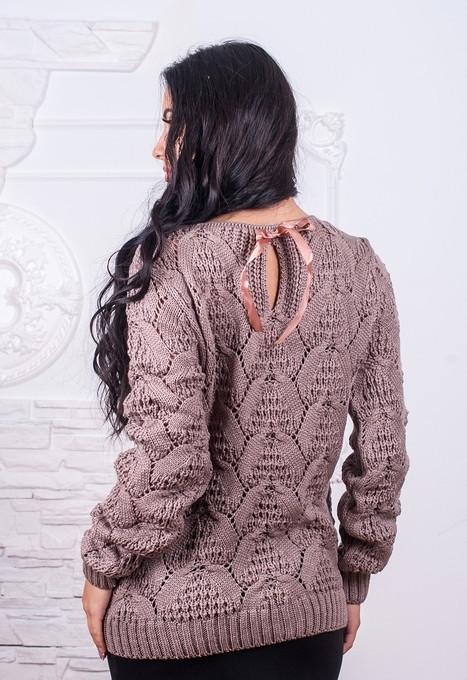 Стильный женский свитер Бант у-t61dm517