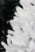 Ель элитная белая литая 110 см 2.3, фото 2