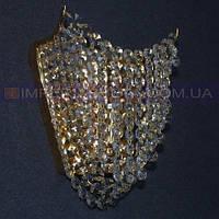 Хрустальное  бра, светильник настенный IMPERIA одноламповое LUX-516000