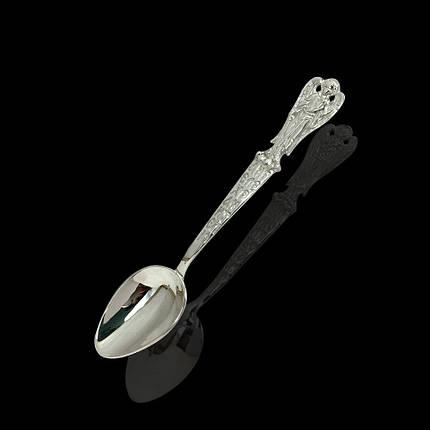 Срібна подарункова ложка Ангел-хранитель, 13 грам, фото 2
