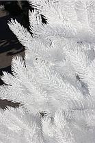 Ель элитная белая литая 210 см, фото 3