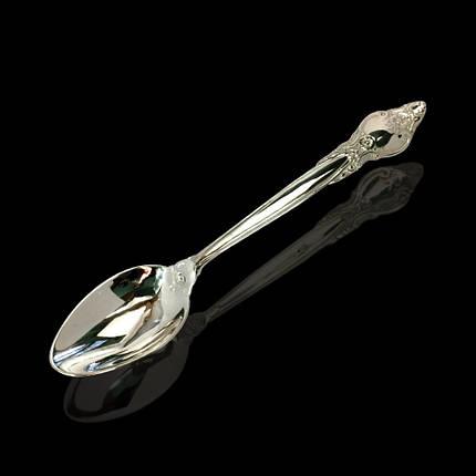 Срібна подарункова ложка, 17 грам, фото 2