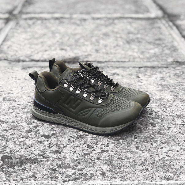 Кроссовки New Balance All Terrain Trail Buster Dark olive (реплика А+++ )