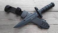 Нож армейский охотничий тактический Columbia USA Спецназ 1378a +пластиковый чехол +пластиковый чехол