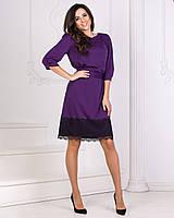 Платье с кружевом в расцветках 3331, фото 1