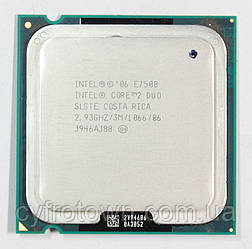Процесор Intel Core 2 Duo E7500 2x2.93 GHz S775