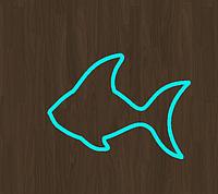 Вырубка кондитерская для пряника рыбка 1