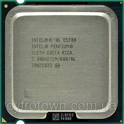 Процесор Pentium dual core E5700 2x3 GHz S775