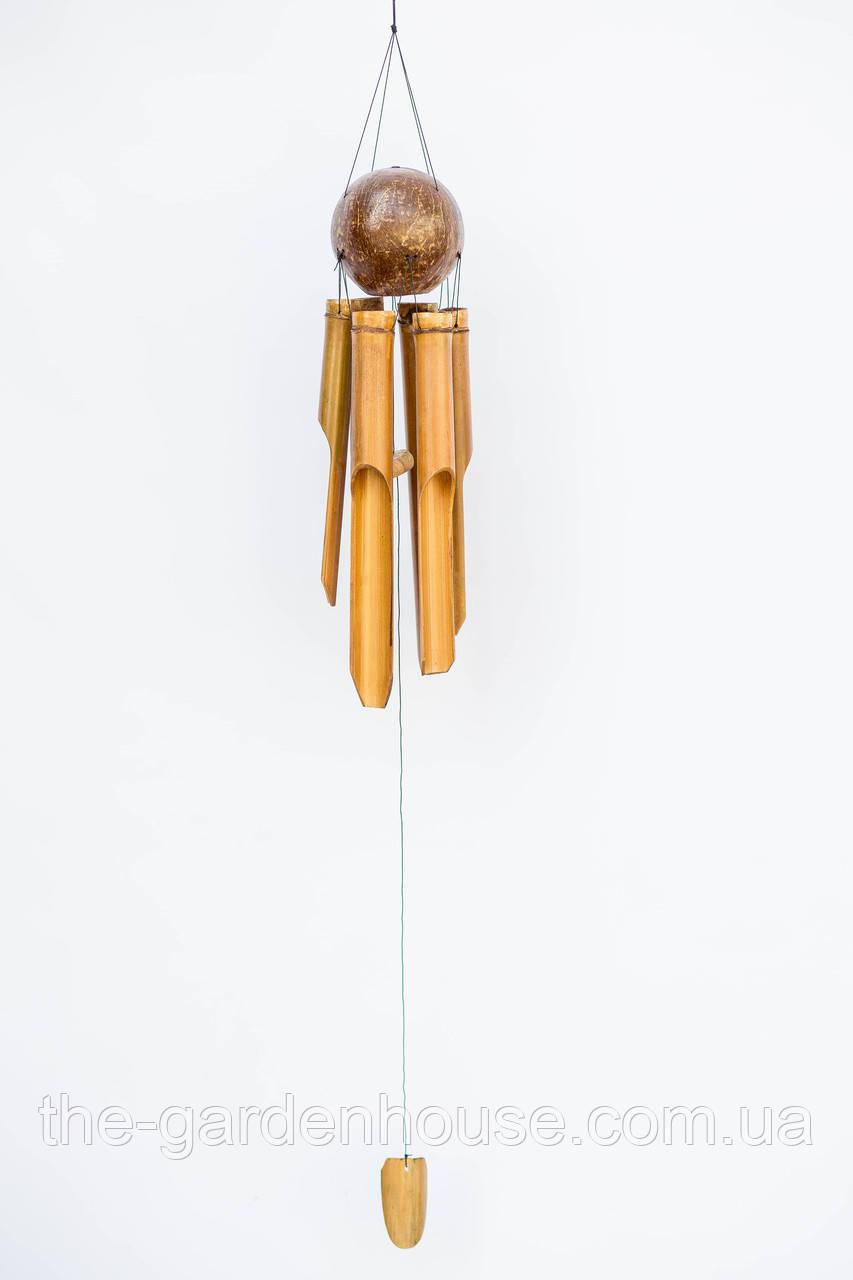 Музыка ветра с кокосовым шаром, 50 см