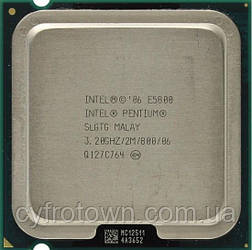 Процесор Intel Pentium dual core E5800 2x3.2 GHz S775