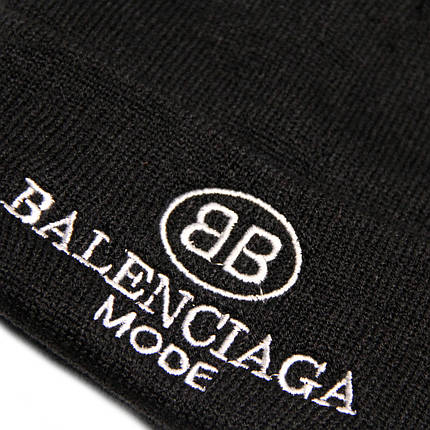 Колпак Balenciaga, двойной с отворотом, фото 2