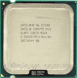 Процесор Intel Core 2 Duo E7200 2x2.53 GHz S775